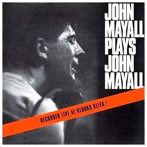 JOHN MAYALL LP John Mayall Plays John Mayall