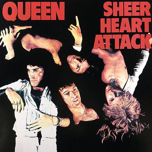 QUEEN LP Sheer Heart Attack (Red Coloured Vinyl)