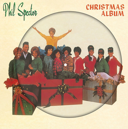 VARIOS LP The Phil Spector Christmas Album (A Christmas Gift For You) Picture