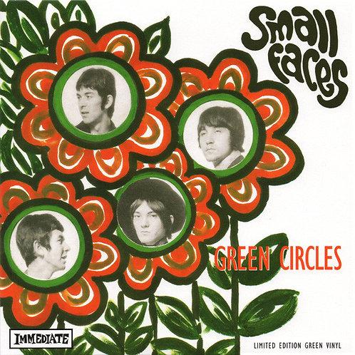 """SMALL FACES 7"""" Green Circles (RSD 2013 Green Coloured Vinyl)"""