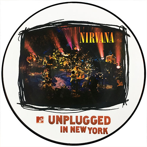 NIRVANA LP MTV Unplugged in New York (Picture Disc)
