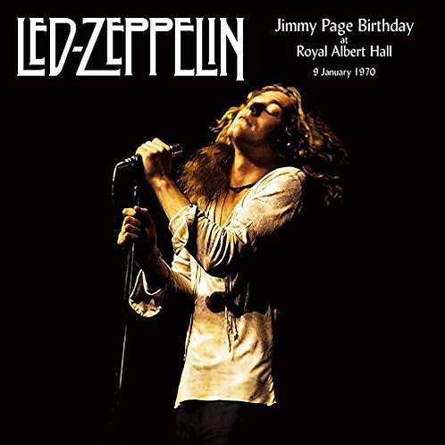 LED ZEPPELIN 2xLP Jimmy Page Birthday At The Royal Albert Hall 9 January 1970