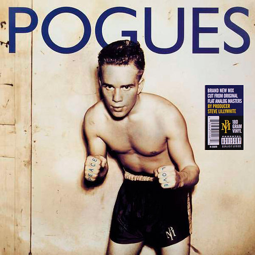 THE POGUES LP Peace And Love (Brand New Mix)