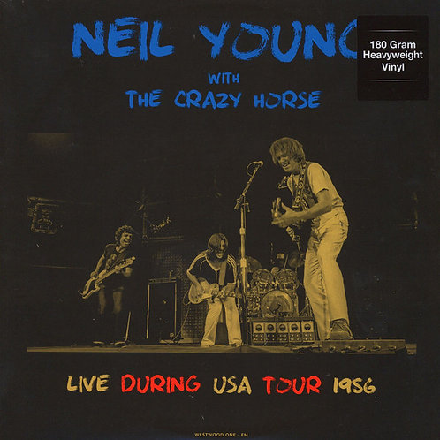 NEIL YOUNG 2xLP Live During USA Tour - November 1986
