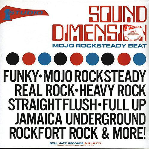 SOUND DIMENSION 2xLP Mojo Rocksteady Beat
