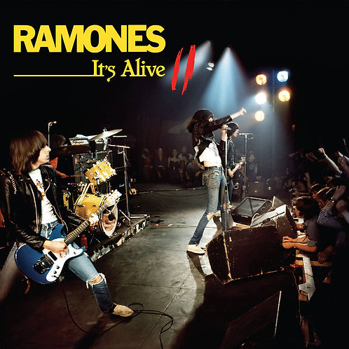 RAMONES 2xLP It's Alive II (RSD Drops September)