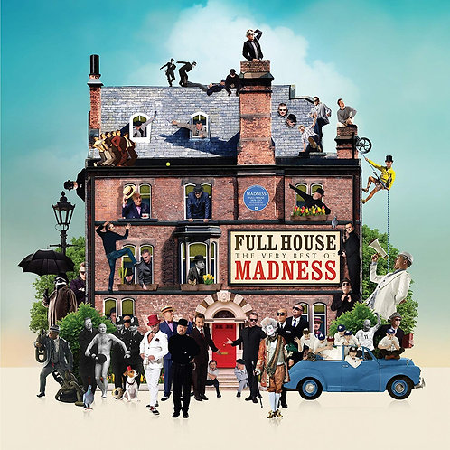 MADNESS 4xLP Full House (The Very Best Of Madness) Pop-up Gatefold Edition