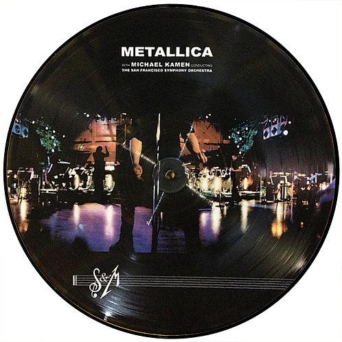 METALLICA LP S&M (Picture Disc Brasil)
