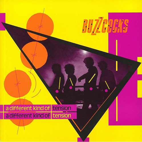 BUZZCOCKS LP A Different Kind Of Tension (Yellow Coloured Vinyl)