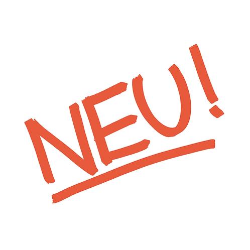 NEU! LP Neu (White Coloured Vinyl)