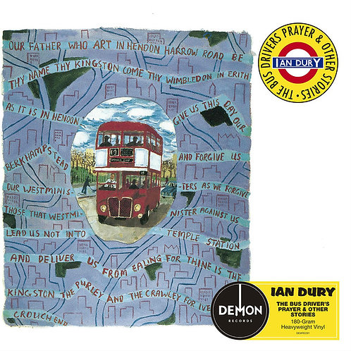 IAN DURY LP The Bus Driver's Prayer & Other Stories