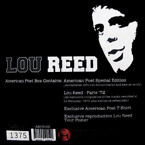 LOU REED BOX SET American Poet (2xCD+Poster+T-shirt)