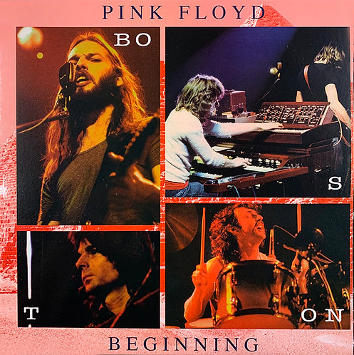 PINK FLOYD LP Beginning Boston 1973 (Blue Coloured Vinyl)