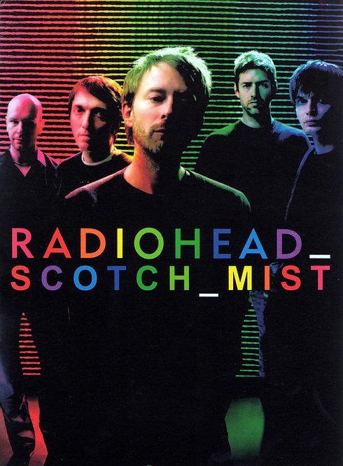 RADIOHEAD DVD Scotch Mist (Digipack)