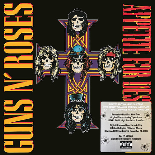 GUNS AND ROSES 2xLP Appetite For Destruction (Remastered Deluxe Edition)