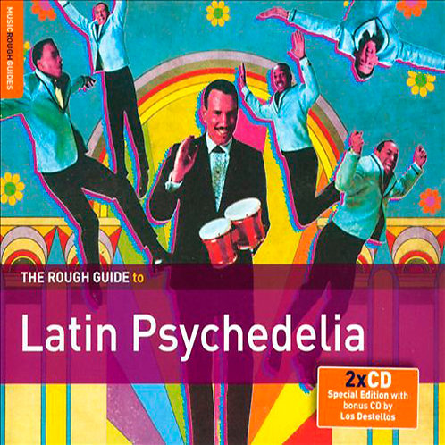 VARIOS 2xCD Rough Guide To Latin Psychedelia