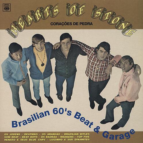 VARIOS LP Hearts Of Stone Vol. 1 Brasilian 60's Beat & Garage