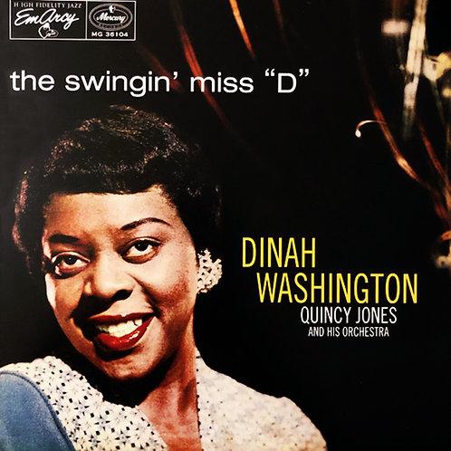 "DINAH WASHINGTON LP The Swingin' Miss ""D"""