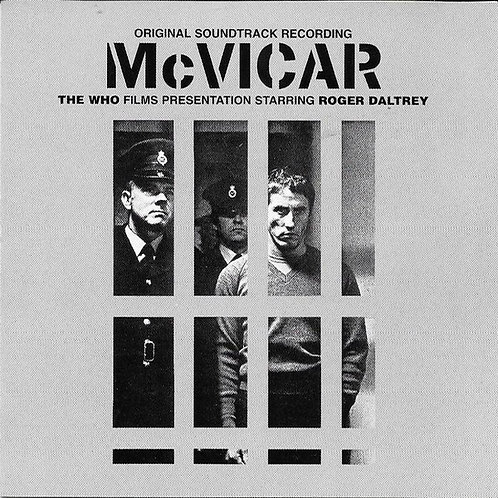 ROGER DALTREY (THE WHO) CD McVicar (Original Soundtrack Recording)