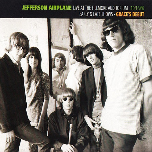 JEFFERSON AIRPLANE CD Live At The Fillmore Auditorium 10/16/66