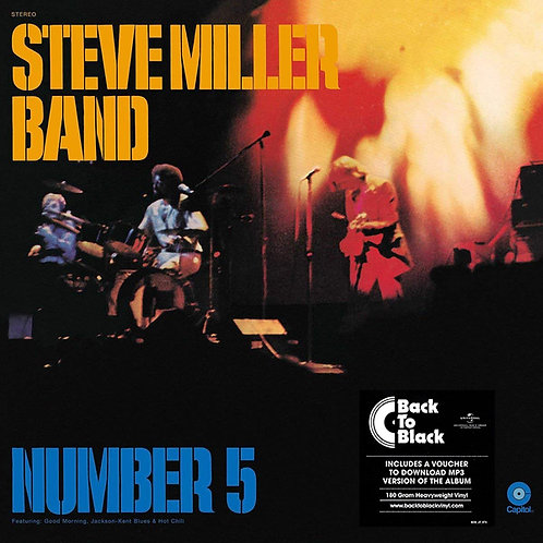 STEVE MILLER BAND LP Number 5 (180 Gram Heavyweight Vinyl