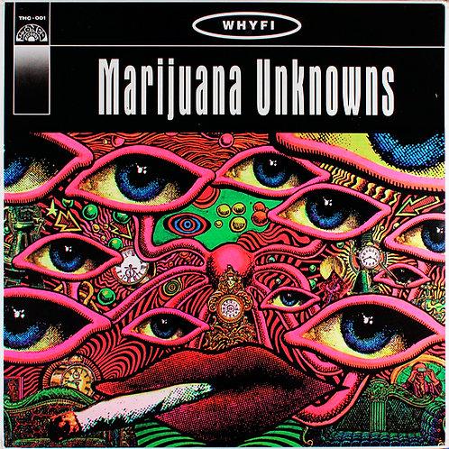 VARIOS LP Marijuana Unknowns (Green Coloured Vinyl)