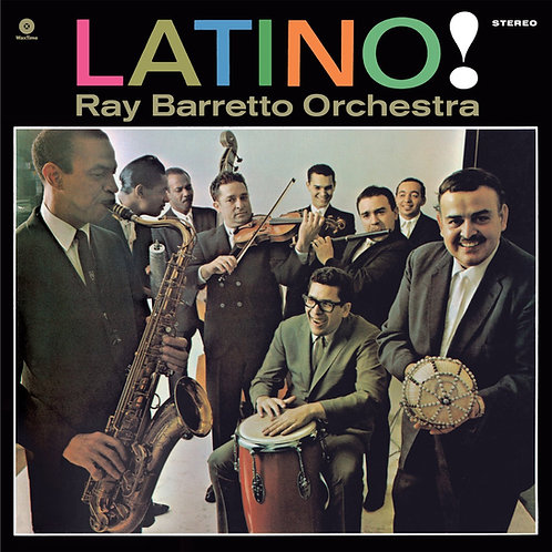 RAY BARRETTO ORCHESTRA LP Latino!