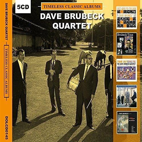 DAVE BRUBECK QUARTET BOX SET 5xCD Timeless Classic Albums