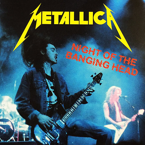 METALLICA 2xLP Night Of The Banging Head (Black Marbled Brown Coloured Vinyls)