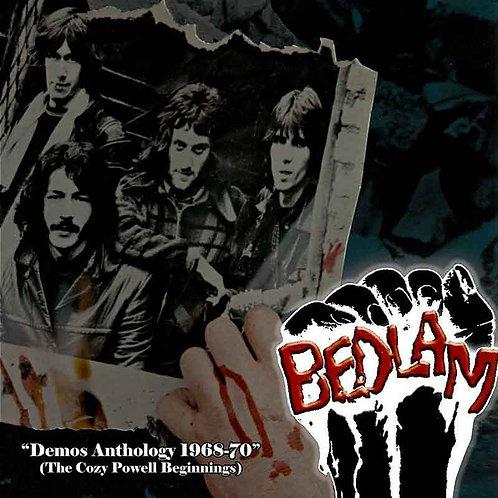 BEDLAM LP Demos Anthology 1968-1970 (The Cozy Powell Beginnings)