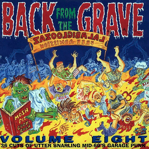 VARIOS 2xLP Back From The Grave Volume 8 Gatefold