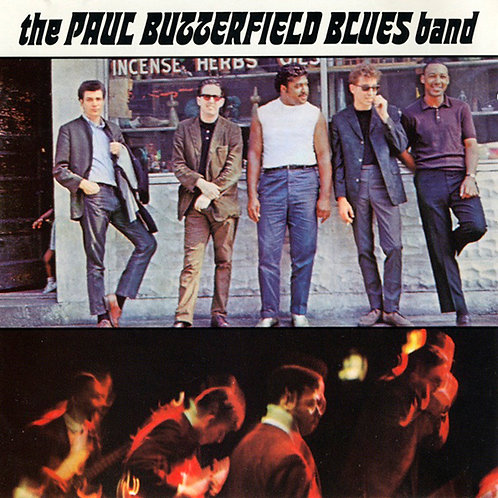 PAUL BUTTERFIELD BLUES BAND CD Paul Butterfield Blues Band