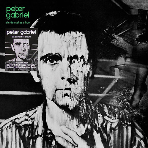 PETER GABRIEL LP 3 Ein Deutsches Album (German Version)