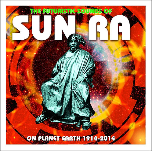 SUN RA 2xCD The Futuristic Sounds Of