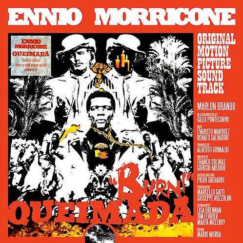 ENNIO MORRICONE LP Queimada / Burn! (Original Motion Picture Soundtrack)