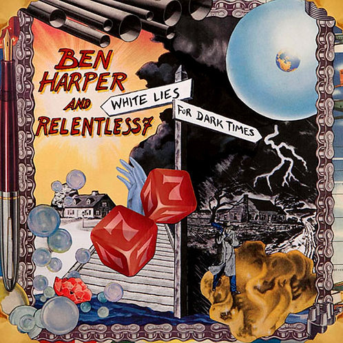 BEN HARPER AND RELENTLESS7 CD White Lies For Dark Times