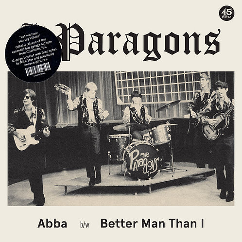 "THE PARAGONS 7"" Abba / Better Man Than I"