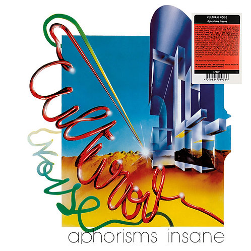 CULTURAL NOISE LP Aphorisms Insane