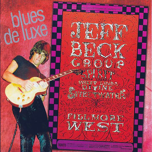 JEFF BECK GROUP CD Blues De Luxe (Live 1968)