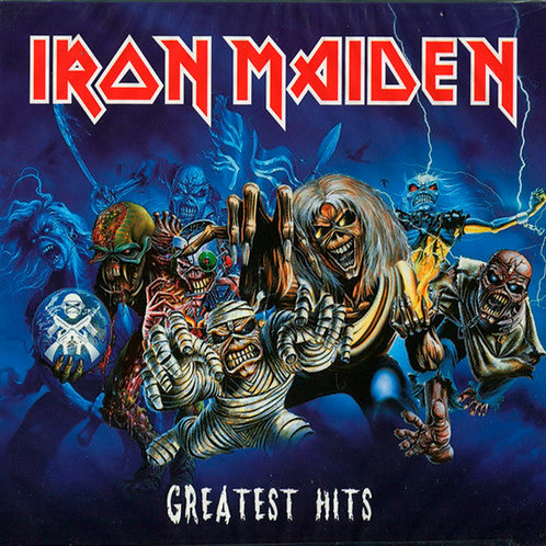 IRON MAIDEN 2xCD Greatest Hits (Digipack)