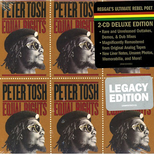 PETER TOSH 2xCD Equal Rights (Legacy Deluxe Edition)