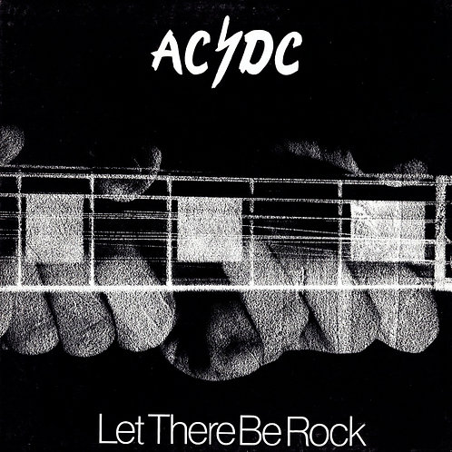 AC/DC LP Let There Be Rock (Red Coloured Australia Vinyl)