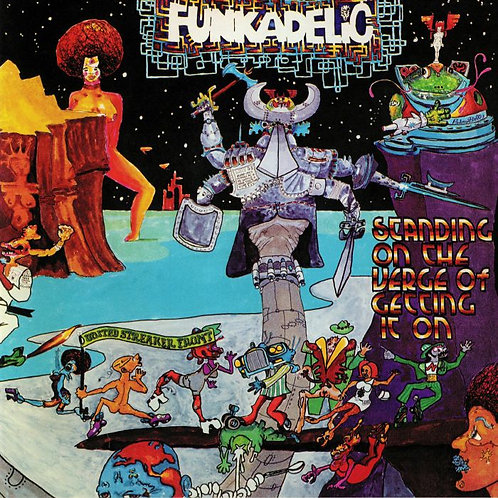 FUNKADELIC LP Standing On The Verge Of Getting It On