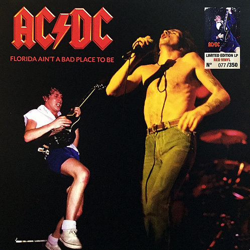 AC/DC LP Florida Ain't A Bad Place To Be (Red Coloured Numbered Vinyl)