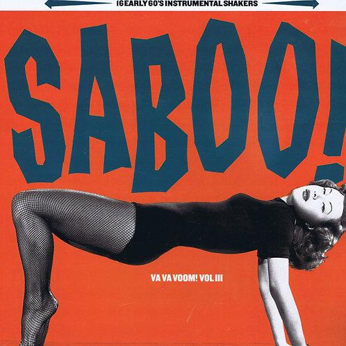 VARIOUS LP Saboo! (Va Va Voom! Vol III) 16 early 60's instrumetal shakers