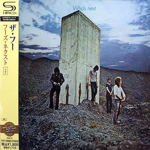 THE WHO CD Who's Next + 7 Bonus Tracks (Japan SHM-CD)