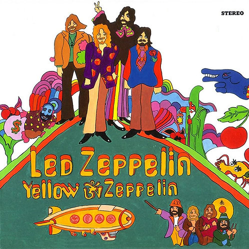 LED ZEPPELIN LP Yellow Zeppelin (Coloured Vinyl)