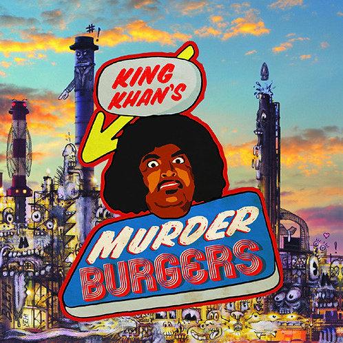 KING KHAN LP King Khan's Murder Burgers