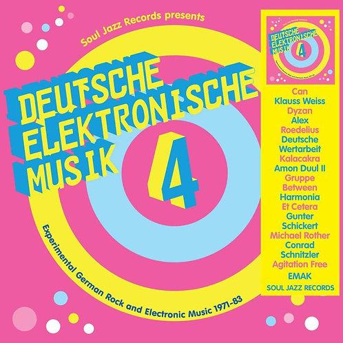 VARIOUS 3xLP Deutsche Elektronische Musik 4