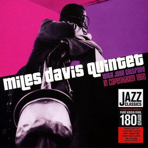 MILES DAVIS QUINTET LP In Copenhagen 1960 (With John Coltrane)